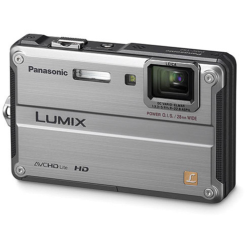 Panasonic Lumix DMC-TS2 Digital Camera (Silver)