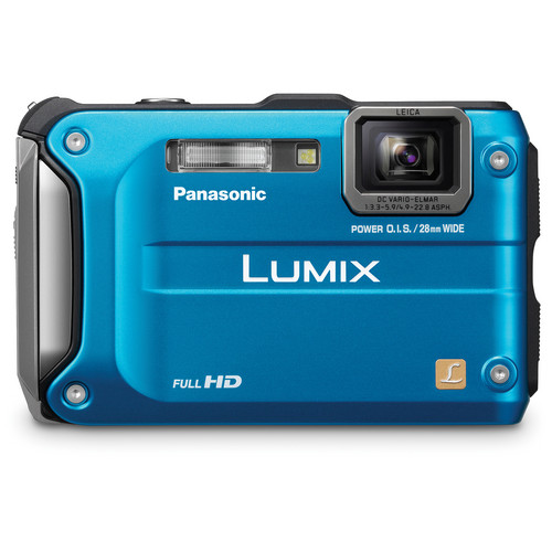 Panasonic Lumix DMC-TS3 Digital Camera (Blue)