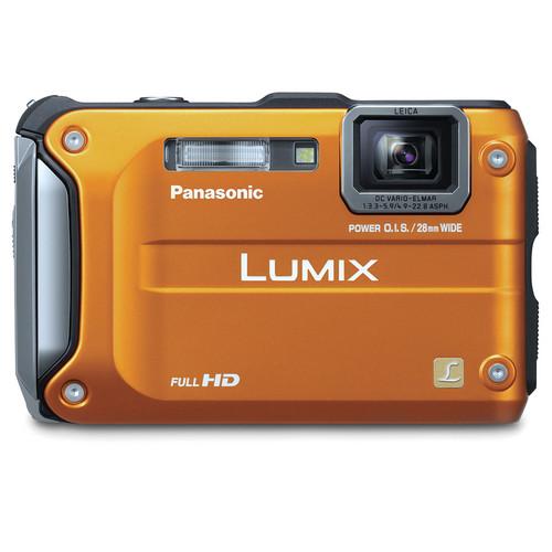 Panasonic Lumix DMC-TS3 Digital Camera (Orange)