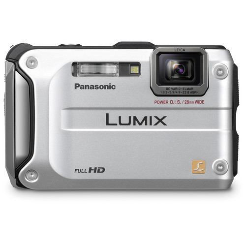 Panasonic Lumix DMC-TS3 Digital Camera (Silver)