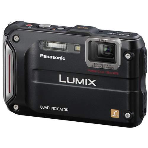 Panasonic Lumix DMC-TS4 Digital Camera (Black)