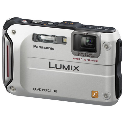 Panasonic Lumix DMC-TS4 Digital Camera (Silver)