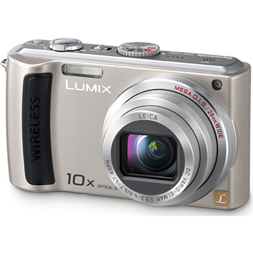 Panasonic Lumix DMC-TZ50 Digital Camera (Silver)