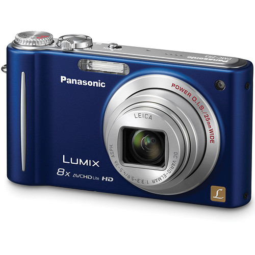 Panasonic LUMIX DMC-ZR3 Digital Camera (Blue)