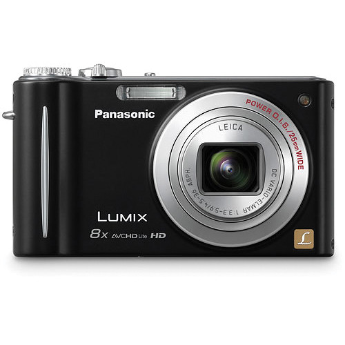 Panasonic LUMIX DMC-ZR3 Digital Camera (Black)