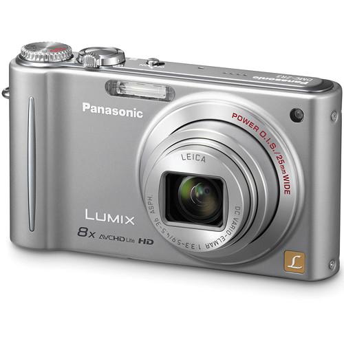 Panasonic LUMIX DMC-ZR3 Digital Camera (Silver)