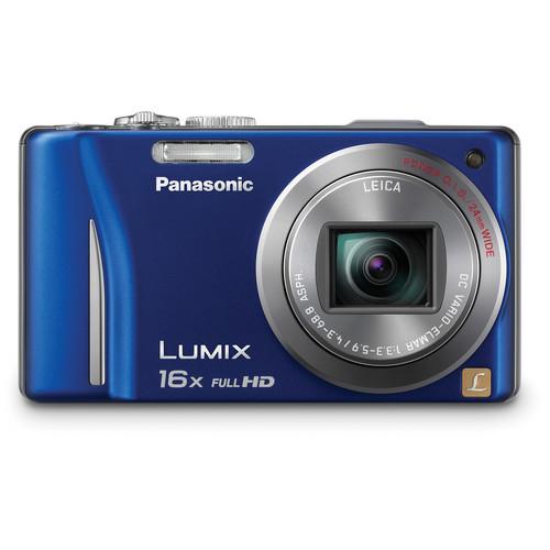 Panasonic Lumix DMC-ZS10 Digital Camera (Blue)