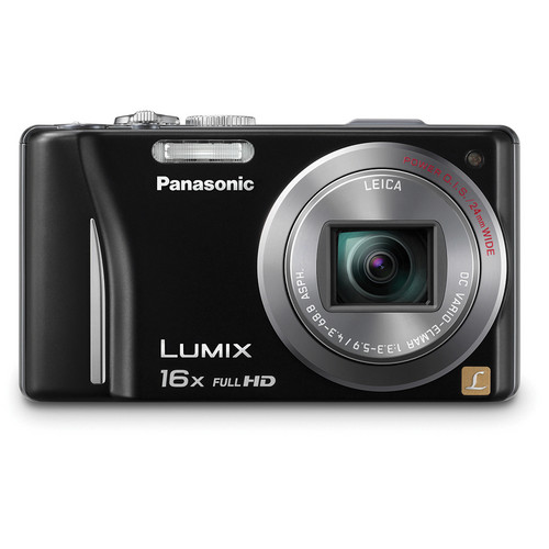Panasonic Lumix DMC-ZS10 Digital Camera (Black)
