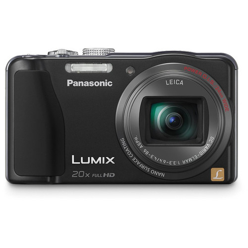 Panasonic Lumix DMC-ZS20 Digital Camera (Black)