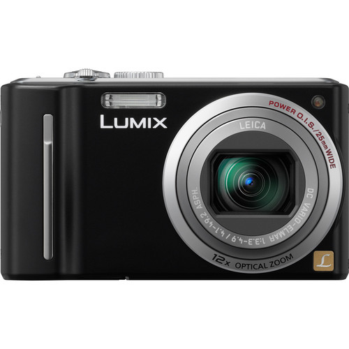 Panasonic LUMIX DMC-ZS5 Digital Camera (Black)