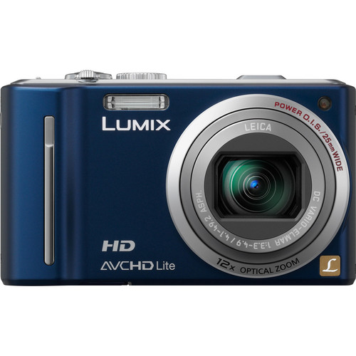 Panasonic LUMIX DMC-ZS7 (Blue) Digital Camera