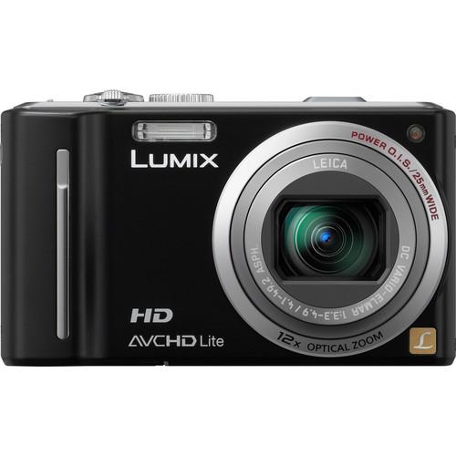 Panasonic LUMIX DMC-ZS7 (Black) Digital Camera