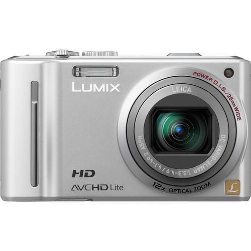 Panasonic LUMIX DMC-ZS7 (Silver) Digital Camera