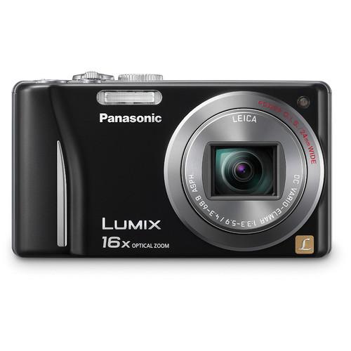 Panasonic Lumix DMC-ZS8 Digital Camera (Black)