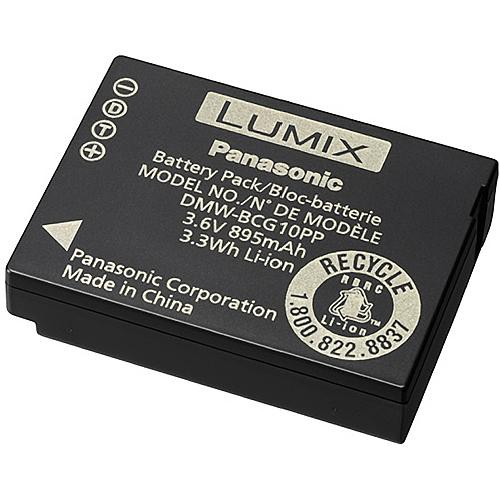 Panasonic DMW-BCG10PP ID Secured Battery