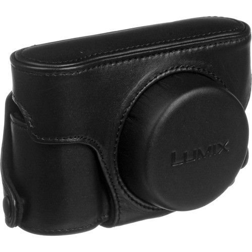 Panasonic Leather Carrying Case for the LX5 Camera (Black)