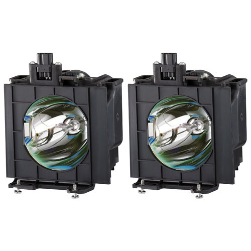 Panasonic ET-LA097W Projector Replacement Lamp Twin Pack for the PT-L797U LCD Projector