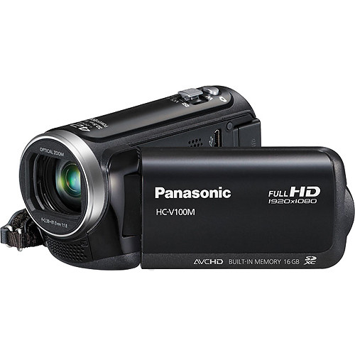 Panasonic 16GB HC-V100M HD Camcorder