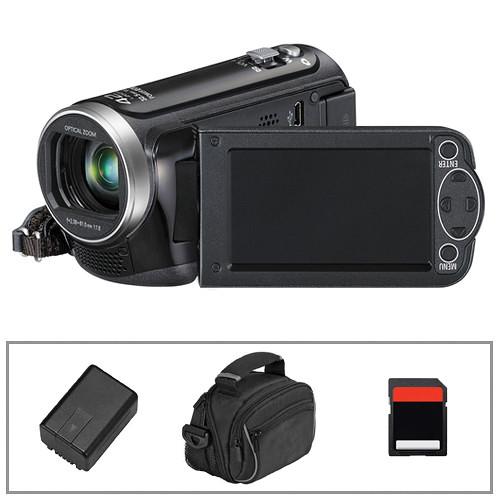 Panasonic HC-V100 HD Camcorder, Battery, Camera Bag & Memory Card B&H Kit