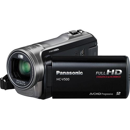 Panasonic HC-V500E HD Camcorder (PAL)
