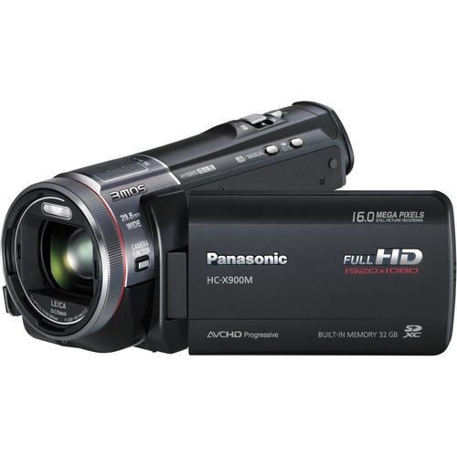 Panasonic 32GB HC-X900M 3D Ready Full HD Camcorder (Black)