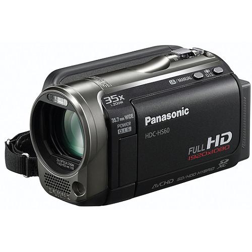 Panasonic HDC-HS60 HD PAL Camcorder HDCHS60E B&H Photo Video
