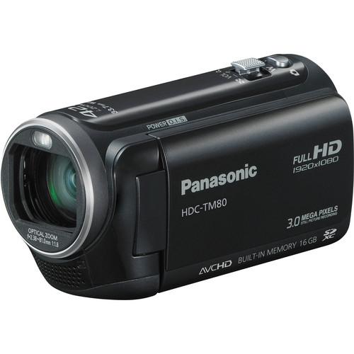 Panasonic HDC-TM80 High Definition PAL Camcorder (Black)