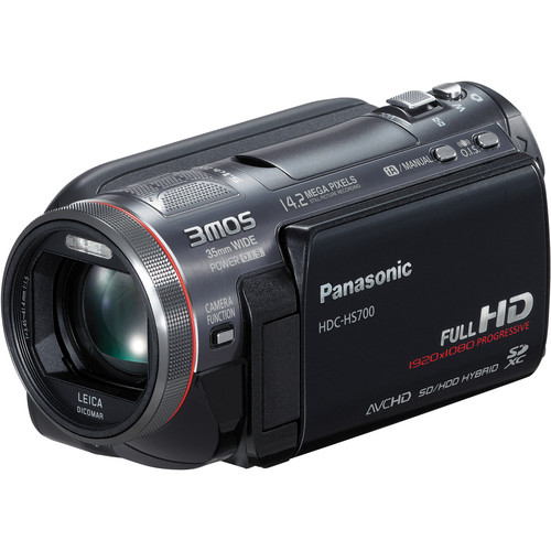 Panasonic HDC-HS700K High Definition Camcorder