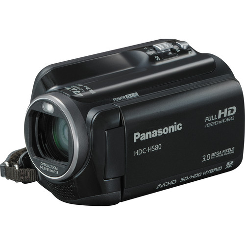 Panasonic HDC-HS80 Camcorder
