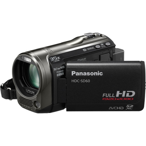 Panasonic HDC-SD60 High Definition Camcorder (Black)