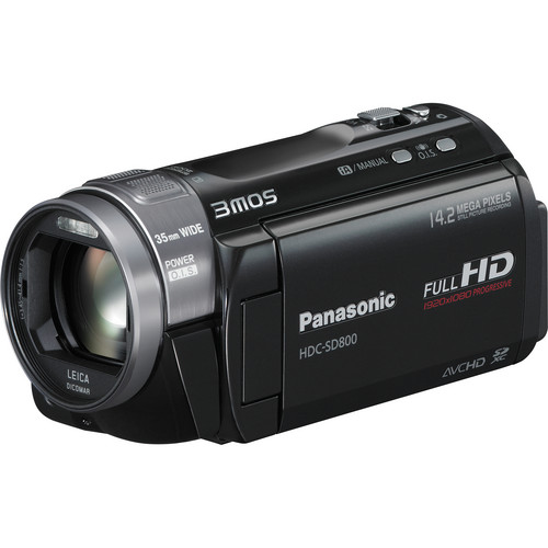 Panasonic HDC-SD800 High Definition Camcorder