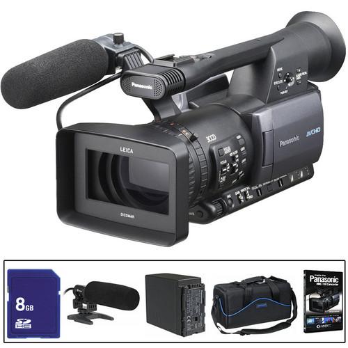 Panasonic AG-HMC150 AVCCAM Camcorder Shooter's Package
