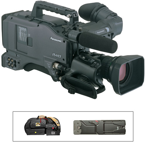 "Panasonic AG-HPX500 2/3"" Shoulder Mounted P2 Camcorder Kit, includes SHAN-TM700 and Carrying Case"