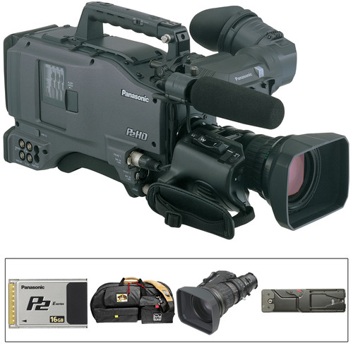 "Panasonic AG-HPX500 2/3"" Shoulder Mounted P2 Camcorder"