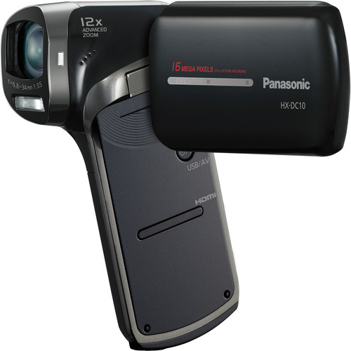 Panasonic HX-DC10 HD Dual Camcorder
