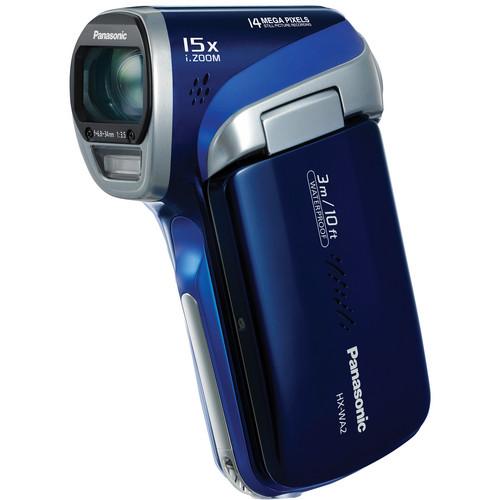 Panasonic HX-WA2 HD Waterproof Dual Camcorder (Blue)