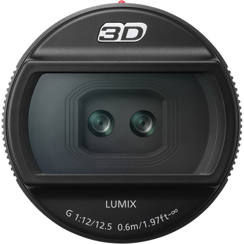 Panasonic 3D LUMIX G 12.5mm/F12 Lens for DMC-GH2