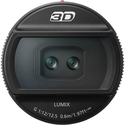 Panasonic 3D LUMIX G 12.5mm/F12 Lens for DMC-GH2