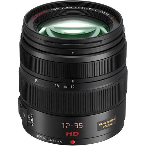 Panasonic Lumix G X Vario 12-35mm f/2.8 Asph. Lens for Micro 4/3 (Black)