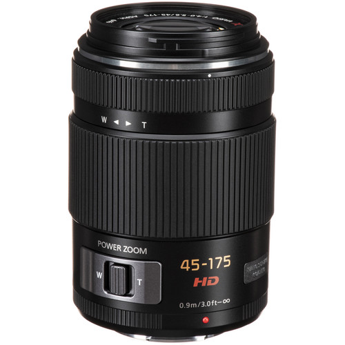 Panasonic Lumix G X Vario PZ 45-175mm f/4.0-5.6 ASPH. Lens (Black)