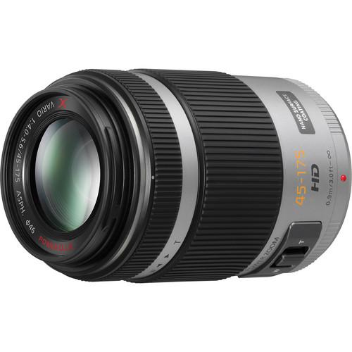 Panasonic Lumix G X Vario PZ 45-175mm f/4.0-5.6 ASPH. Lens (Silver)