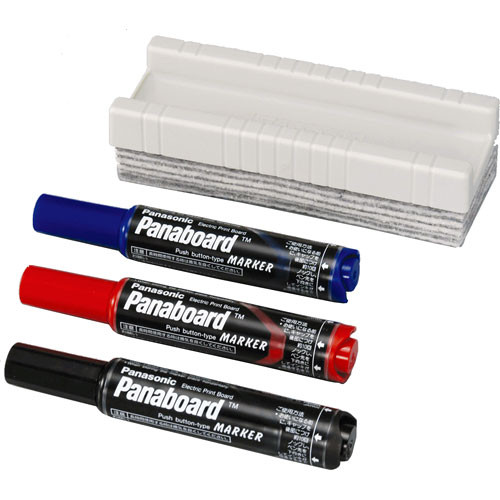 Panasonic Marker and Eraser Kit