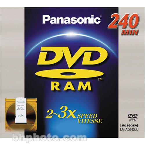 Panasonic LM-AD240LU DVD-RAM with Cartridge (1)