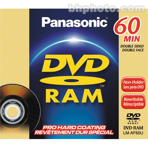Panasonic 2.8GB DVD-RAM Disc for DVD Camcorders