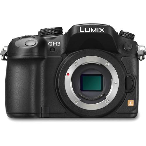 Panasonic Lumix DMC-GH3 Mirrorless Micro Four Thirds Digital Camera (Black)