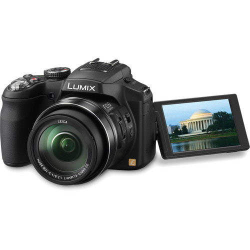 Panasonic Lumix FZ200 Digital Camera with Deluxe Accessory Kit