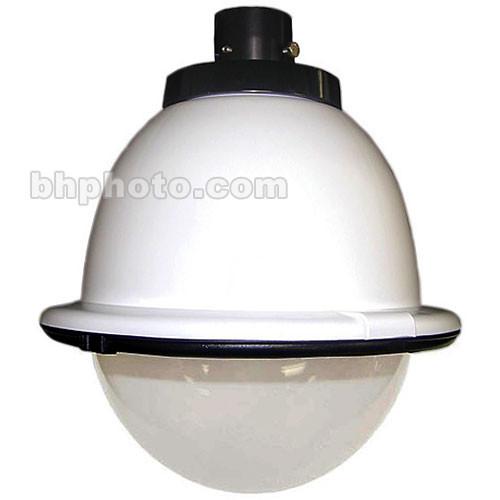 "Panasonic POD8CF 8"" Outdoor Pendant-Mount Dome Housing for WV-BP140, WV-BP330, WV-CP240, WV-CP254H, WV-CP470, and WV-NP472 Series Fixed Cameras (White)"