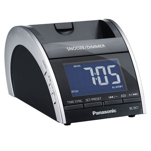Panasonic RC-DC1 Clock Radio with iPod Dock