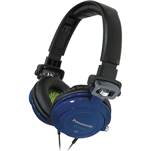 Panasonic RP-DJS-400 DJ Street Style Headphones (Blue)