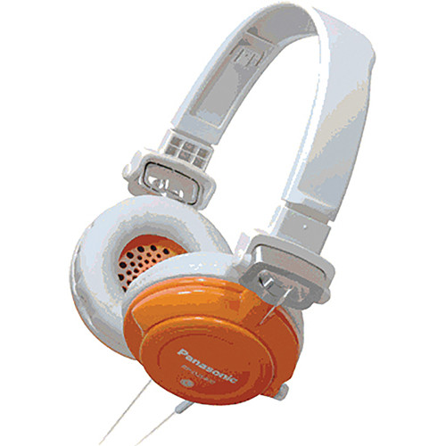 Panasonic RP-DJS-400 DJ Street Style Headphones (Orange)